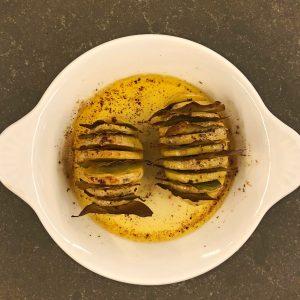hasselback-aardappels stap 5 - delicious
