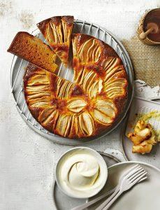 apfelkuchen met gember - delicious