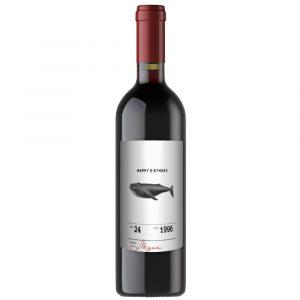 Gepersonaliseerde wijn etiket via Make Your Own Spirit