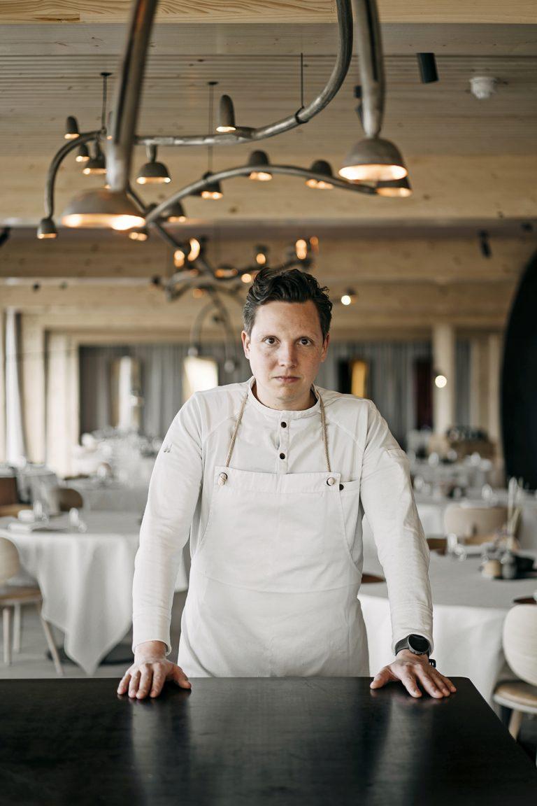Syrco Bakker, chef bij Pure C