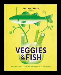 Kookboek Veggies & fish cover