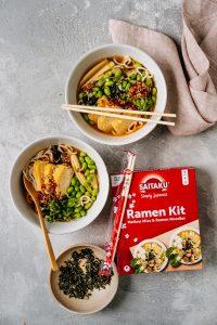 ramen met japanse omelet & chili-crispolie