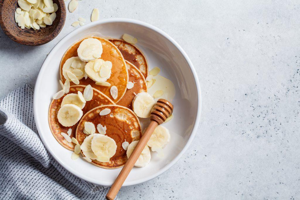 Banana pancakes bananen pannenkoeken