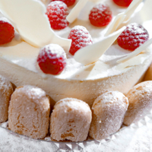 Vraag over champagnetaart - Chocolade en witte badkamer ...