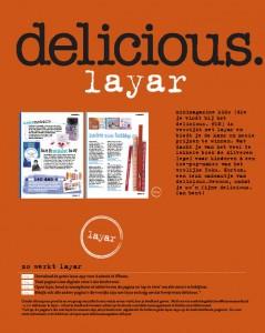 delicious. KIDS & Layar