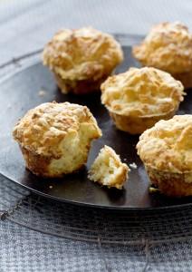 Muffin boerenkaas en komijn