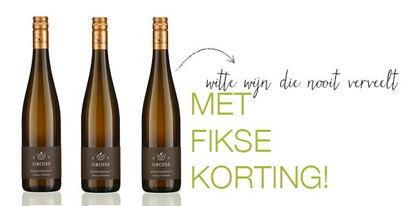 Aanbieding Ockhuysen - Gruner Veltliner